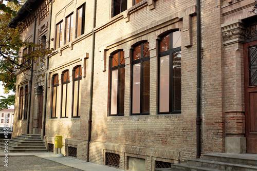 Poster Oude gebouw Edificio storico