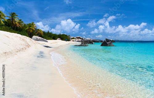 Foto op Plexiglas Indonesië Picture perfect beach at Caribbean