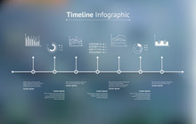 Timeline Infographic With Unfo...