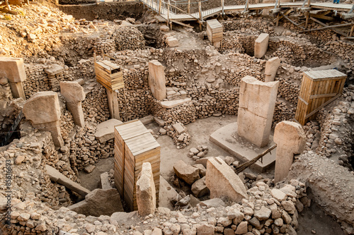 Photo Gobekli Tepe (Pot-belly Hill) is an archaeological site