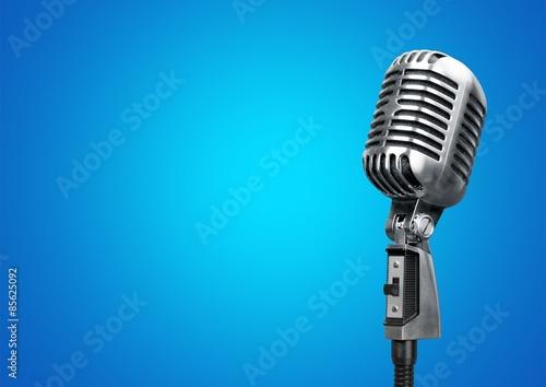 Fotografia Microphone, radio, mic.