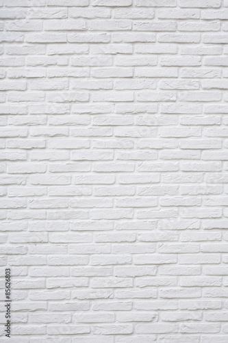 白いレンガのテクスチャ背景