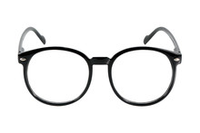 Black Glasses, Isolated On Whi...