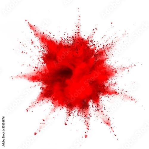 Fotografie, Obraz  powder explosion