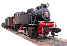 Vintage,big, Steam Train