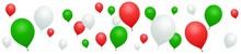 Banner Red, Green, White Ballo...