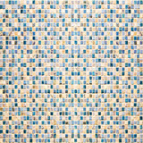 Fototapeta Bathroom - Vintage colorful tiles mosaic background
