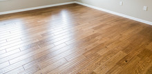 Shiny New Hardwood Floor