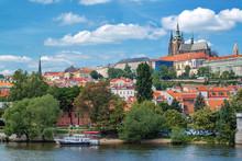 Prague Castle And Saint Vitus Cathedral