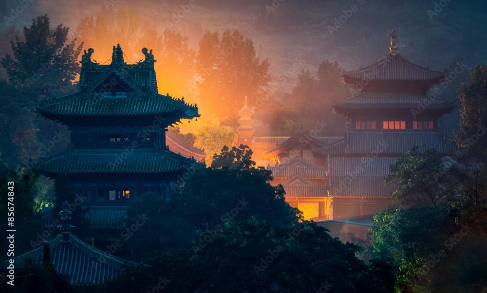 Fototapety, obrazy: Shaolin temple