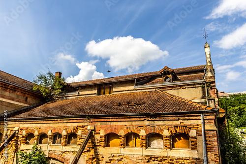 Fotografie, Obraz  Bâtiment en ruine à Tarare