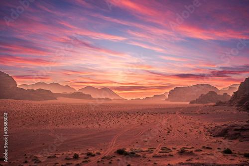 Fotobehang Midden Oosten Wadi Rum
