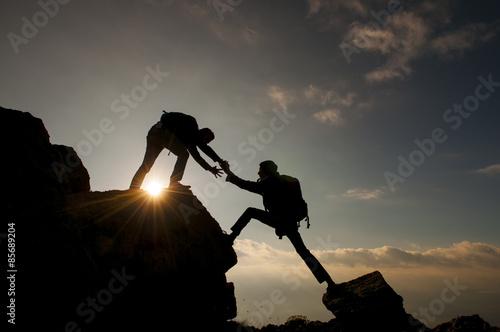 zirvede destek olmak&dağcılık faaliyeti Poster