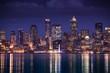 Seattle Illumination at Night
