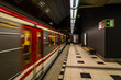 Metro view in Prague, Czech Republic