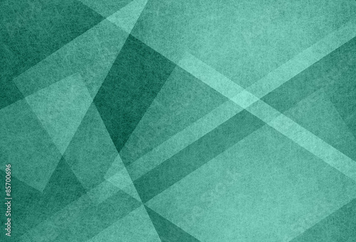 abstract green background with angles diagonals and triangle shapes in geometric pattern