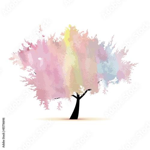 drzewo-w-akwareli