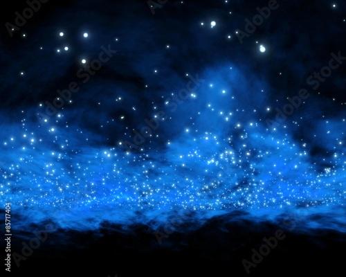 Fototapety, obrazy: nebula and galaxy