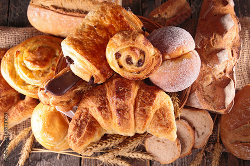 Fotografie, Tablou  assortment of pastry