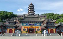 Kui Xing Lou Or Kuixing Tower,  A Daoist Temple, On Dragon Hat Mountain, Liaoyuan, Jilin, China