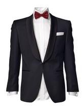 Mens Tuxedo Jacket Isolated On White