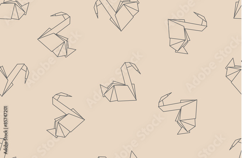 Japanese origami paper cranes seamless pattern can be used for web japanese origami paper cranes seamless pattern can be used for web page backgrounds surface colourmoves
