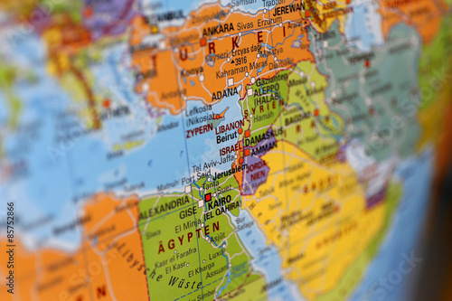 Foto op Plexiglas Midden Oosten Naher Osten - Globus