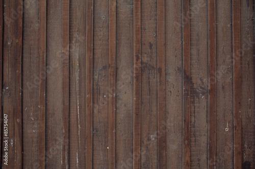 Fototapeta Wood background  Dark brown color texture obraz na płótnie