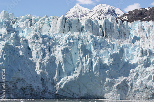 Fotobehang Gletsjers Glacier Closeup