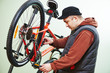 bike repair or adjustment