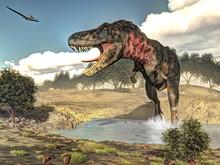 Tarbosaurus Dinosaur - 3D Render