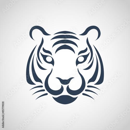 tiger logo vector Wall mural