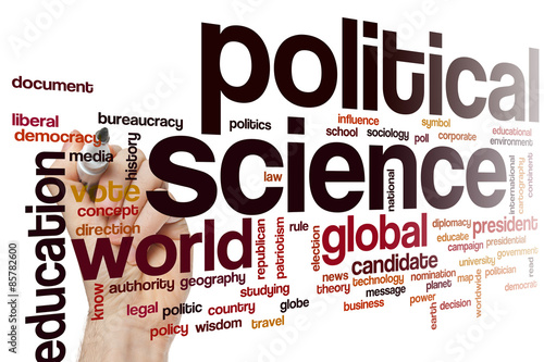 Political Science Word Cloud Buy This Stock Photo And Explore