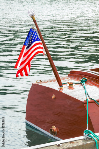 Classic Wooden Boat Parts - Buy this stock photo and explore