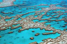 Aerial View Great Barrier Reef...