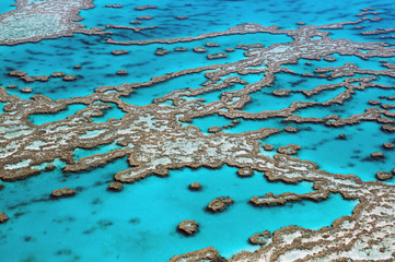 Pogled iz zraka Veliki koraljni greben Australija-3