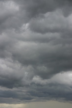 Turbulent Stormy Cloudscape Background