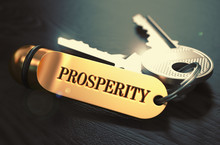 Keys With Word Prosperity On G...