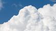 Leinwandbild Motiv cumulus clouds