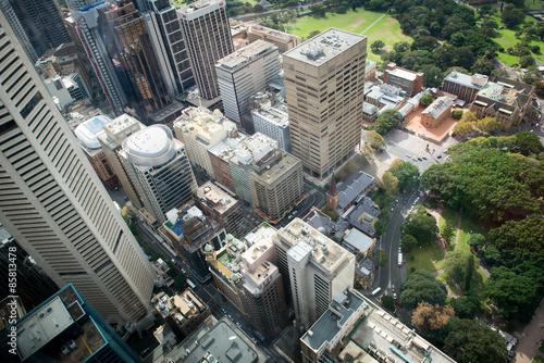 Promenade à Sydney Canvas Print