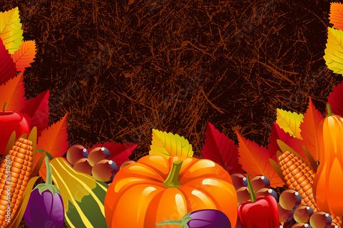 Fototapety, obrazy: Thanksgiving Background
