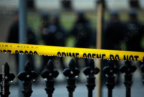 police line, do not cross Tapéta, Fotótapéta