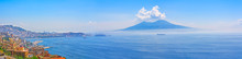 Mount Vesuvius And Naples Pano...