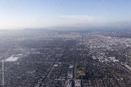 Valokuva  Los Angeles Smog Aerial