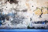Fototapeta Młodzieżowe - Urban Grunge - Colorful Wall Grafitti Background Texture.