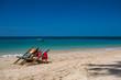 Ko Lanta Long Beach with blue sky, turquoise sea and sandy beach