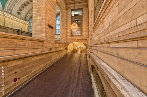 Grand Central station with moving people Wallpaper Mural