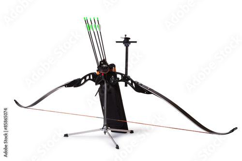 Deurstickers Art Studio Sport bow