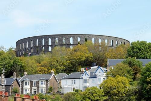 Obraz na płótnie Das Colosseum von Oban in Schottland.