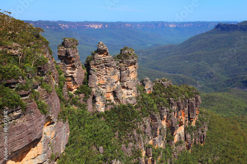 The Three Sisters in the Australian Blue Mountains Canvas
